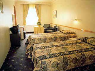 Baron Hotel Twin Room Picture