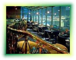 Ceylan Intercontinental Istanbul Hotel roof bar picture