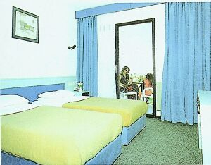 Piril Hotel cesme Izmir hotel twin room picture