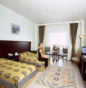 Suzer Paradise Hotel Cesme Izmir hotel twin room picture