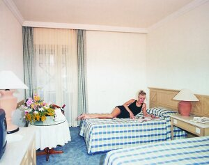Polat Thermal Hotel Pamukkale twin room picture